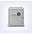 Safe with electronic lock vector image