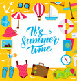 summer paper concept vector image vector image