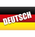 deutsch design vector image
