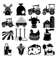 Farm icon vector image