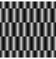 Op Art Design Striped Checkered Seamless Pattern vector image