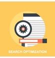 Search Optimization vector image