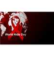 Wold Aids day vector image