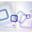 Abstract background geometric square shape vector image