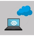 Flat about Security system vector image
