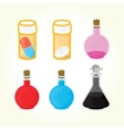 Game medicine icons vector image