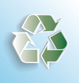 3D Recycle Icon vector image vector image