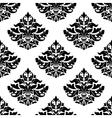Royal damask seamless pattern vector image vector image