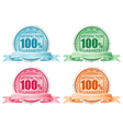 collection stamps vector image