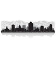 Salt Lake city USA skyline silhouette vector image vector image