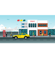 Airport Taxi vector image