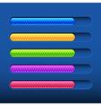 Progress bar vector image