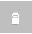 Soda computer symbol vector image