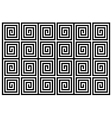 Geometric block pattern vector image vector image