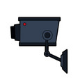 security or surveillance camera icon image vector image