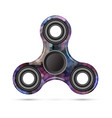 spinner mosaic design vector image vector image