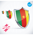 I Love Cameroon Flag vector image