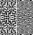 Two Seamless Patterns vector image