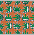 weed marijuana seamless pattern background vector image