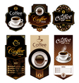 Coffee Banners 1 vector image vector image