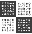 set of 100 various general icons for your use vector image