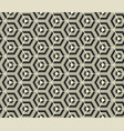 Retro wallpaper - vintage pattern black and white vector image