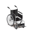 wheelchair isolated vector image