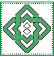 Celtic knot TYPE 4 vector image