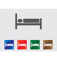Sleep icons vector image