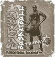 Streetball basketball vector image