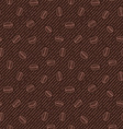 seamless texture with coffee beans vector image vector image