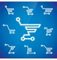 Shopping Cart Symbols vector image