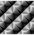 Design seamless monochrome shell pattern vector image