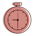 chronometer measure isolated icon vector image