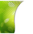 Green Mosaic Eco Background vector image vector image