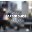Barber shop vector image