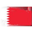 bahrain national flag vector image