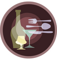 eating and dining vector image