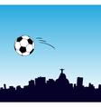World Cup in Rio vector image vector image