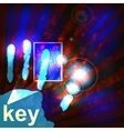 Digital security concept vector image