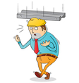 working risk vector image vector image