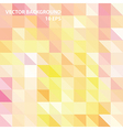 Geometric colorful pattern background vector image vector image