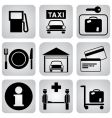 leasure icons vector image vector image