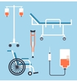 Wheel chair wheelchair dropper vector image vector image