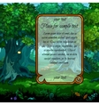 Landscape with mystical nature vector image