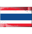 thailand national flag vector image