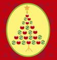 Christmas Tree 1 vector image