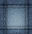 jeans frame vector image vector image