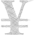 Freehand Symbol vector image vector image
