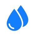 Drops icon vector image